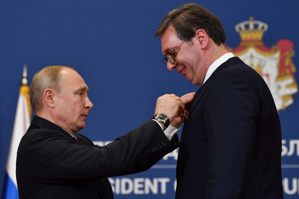 Srbija bi bila radaPutinova Rusija