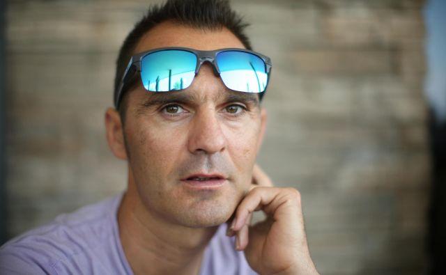 Gorazd Štangelj je del Bahrain Meride od začetka in uživa veliko zaupanje vodstva ekipe. FOTO: Jure Eržen/Delo