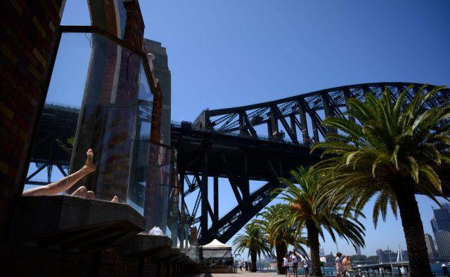 Vročina povzroča težave v Avstraliji. FOTO: AFP