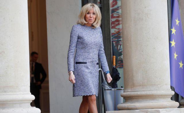 Brigitte Macron<br /> FOTO: Reuters