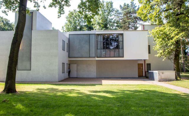 Hiša (Haus am Horn) v Weimarju je bila prva stavba, zgrajena po načelih Bauhausa (1923). FOTO: Fundacija Bauhaus Dessau