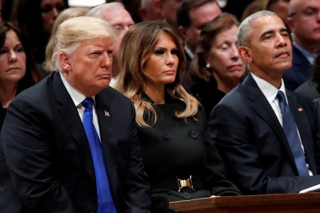 Črno-bela svetova Obame in Trumpa