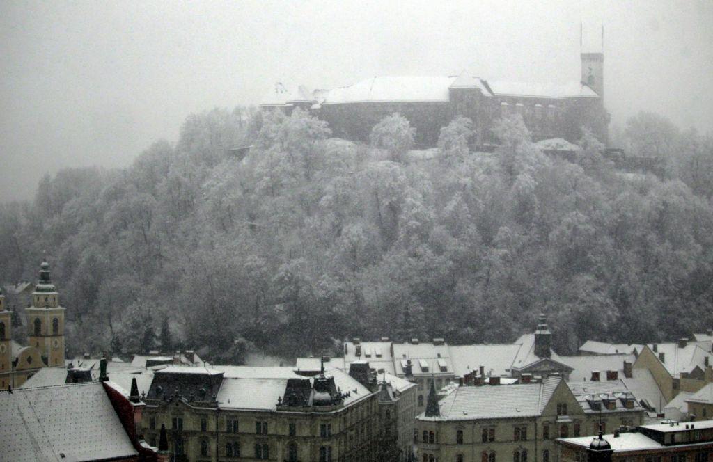 FOTO:Slovenijo prekrila bolj ali manj debela snežna oddeja (FOTO)
