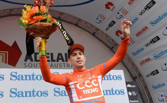 Patrik Bevin je na dobri poti do skupne zmage na dirki Tour Down Under. FOTO: AFP