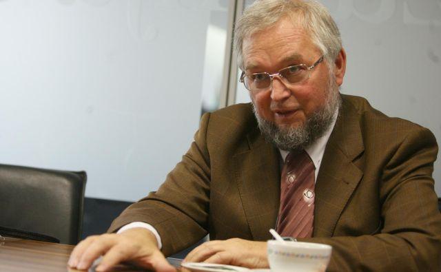 Andrej Ocvirk je bil včasu osamosvajanja podpredsednik vlade. FOTO: Ljubo Vukelič/Delo