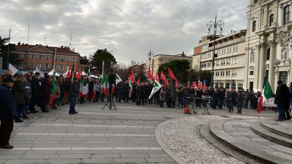 FOTO:Gorica spet v znamenju fašizma. In protifašizma!