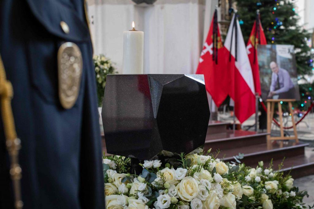 FOTO:Zadnje slovo od umorjenega župana