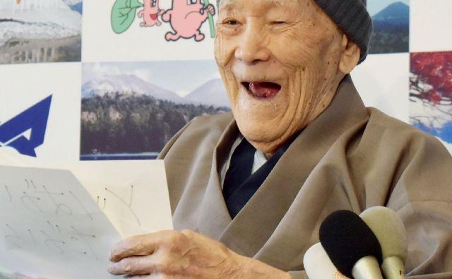Masazo Nonaka je zadnja leta živel na drugem največjem japonskem otoku. FOTO: Jiji Press/Afp