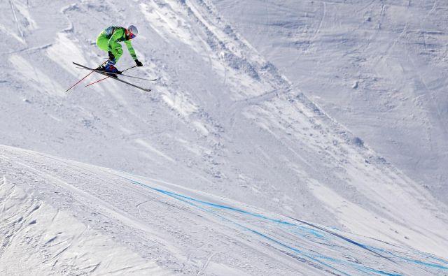 Filip Flisar je prvič v sezoni končal v deseterici. FOTO: Matej Družnik/Delo