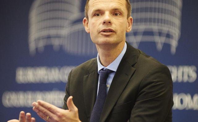 Marko Bošnjak, slovenski sodnik na Evropskem sodišču za človekove pravice v Strasbourgu, bo imel v primeru zelo pomembno vlogo. Foto Primož Zrnec