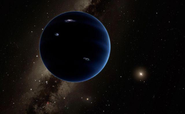Nekateri verjamejo, da se v osončju skriva še en planet, ki ima maso desetkrat večjo od Zemlje. Za pot okoli Sonca naj bi planet potreboval od 10.000 do 20.000 let.<br /> FOTO: Caltech/R. Hurt