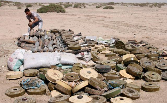Jemen je že leta razdejan zaradi vojne. FOTO: Fawaz Salman/Reuters