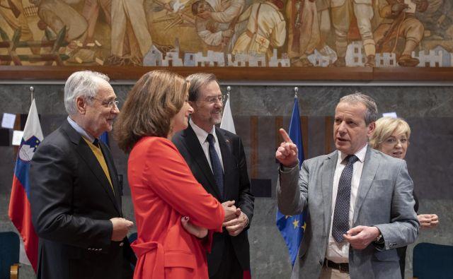 Slovenski evropski poslanci so večinoma že povedali, da ciljajo na nov mandat. FOTO: Voranc Vogel/Delo
