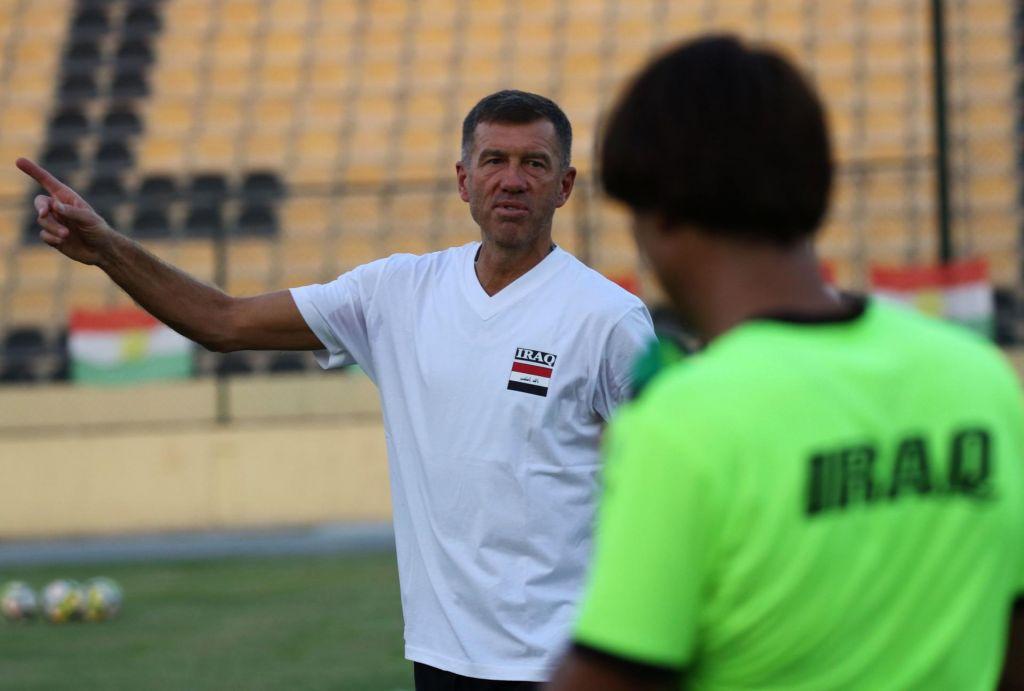 FOTO:»Čutim, da Iračani živijo za nogomet, zato želimo nekaj osvojiti«