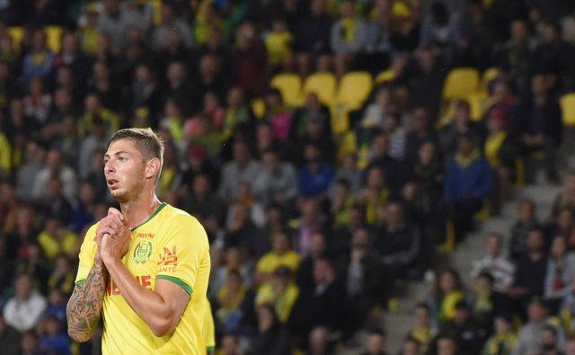 Emiliano Sala še v dresu Rennesa. FOTO: AFP