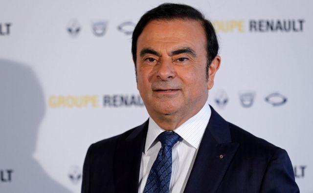 Carlos Ghosn ne bo več vodil Renaulta. FOTO: Reuters