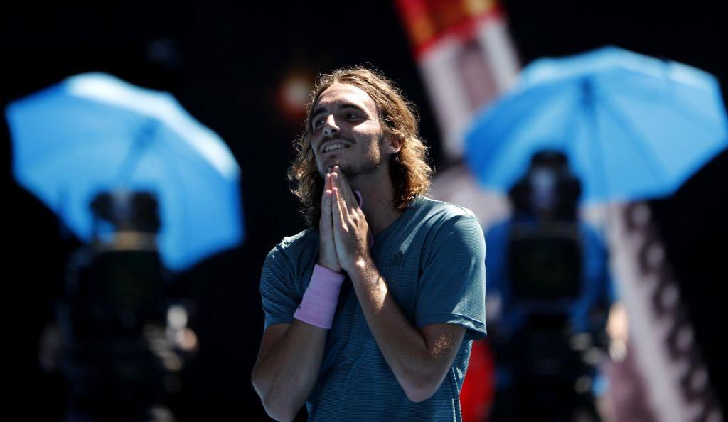 Tsitsipas prek Aguta do polfinala z Nadalom (VIDEO)