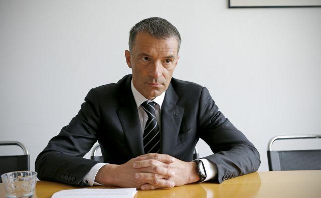 Damjan Belič. FOTO: Blaž Samec/Delo