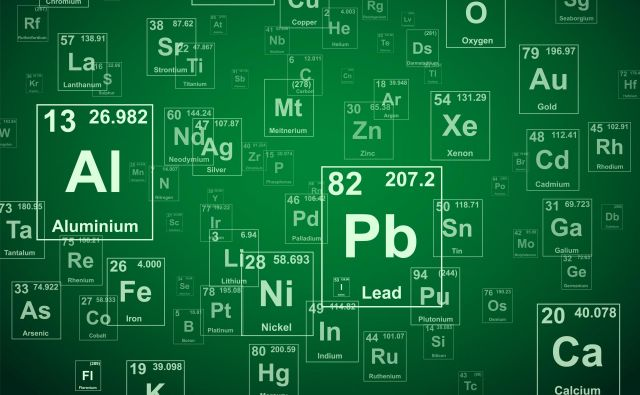 Lastnosti elementov se periodično ponavljajo, kot se ponavljajo note v glasbeni lestvici. Foto Shutterstock