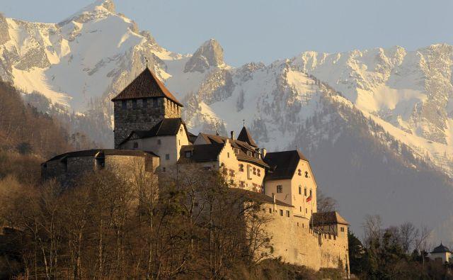 Ko se je leta 1719 grofija Vaduz združila z gospostvom Schellenberg, je nastala kneževina Liechtenstein. Foto: Arnd Wiegmann/Reuters