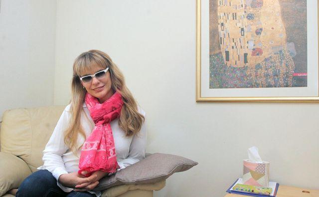 Psihologinja Tja�ša M. Kos: »Od nekdaj so me privlačile globina, pestrost človeške duše in širina doživljanja.« FOTO: Mavric Pivk