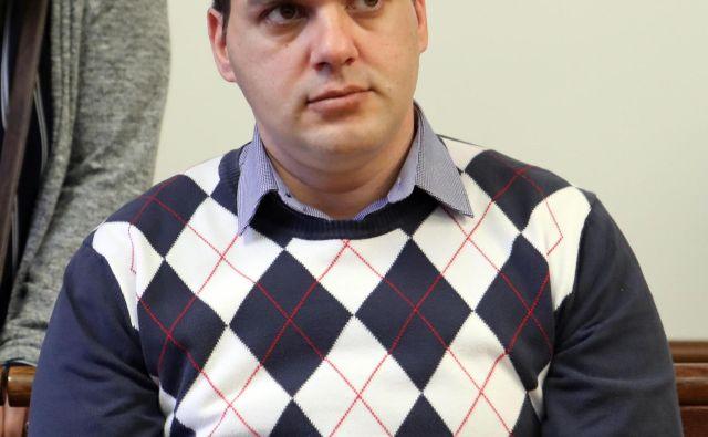 Uroš Smiljić je krivdo zanikal. FOTO: Igor Mali