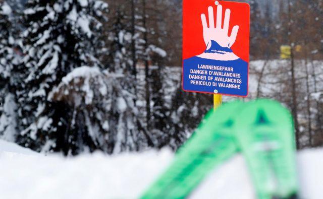 Vreme kroji program v Kitzbühlu. FOTO: Leonhard Föger/Reuters