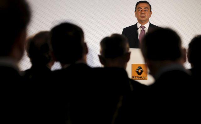 Carlos Ghosn je imel vselej dovovolj poslušalstva. FOTO: Reuters