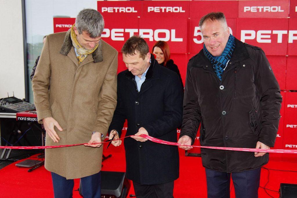 FOTO:Družba Petrol odprla svoje 500. prodajno mesto