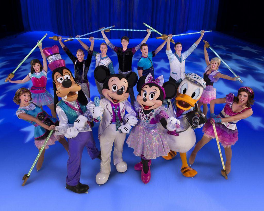 FOTO:Disneyjevi junaki v živo na ledu