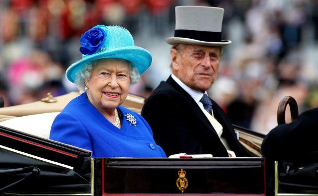 Kraljica Elizabeta II. in njen soprog princ Filip. FOTO: Getty