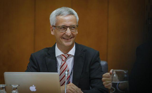 Jernej Pikalo bo začasni kulturni minister. FOTO: Jože Suhadolnik