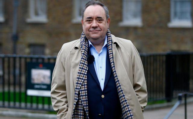 Alexa Salmonda sta nekdanji sodelavki obtožili spolnega nadlegovanja v obdobju, ko je bil še predsednik škotske vlade. FOTO: Henry Nicholls/Reuters