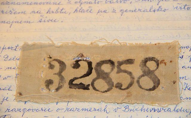 Taboriščna številka Alojza Maršiča Foto Simona Fajfar