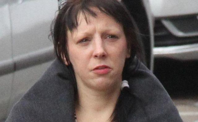 Glorija Kleindienst krivde ni priznala. FOTO: Boštjan Fon
