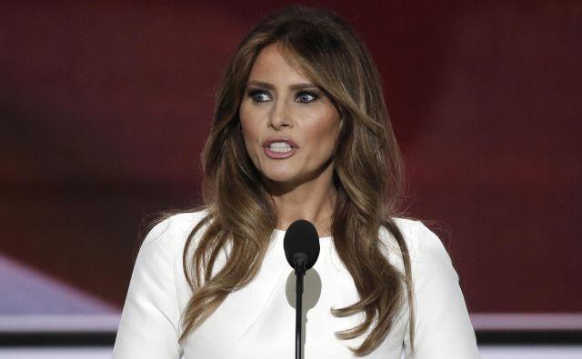Ni prvič, da je Melania Trump uspešno tožila britanski tisk zaradi netočnega poročanja. Foto Reuters
