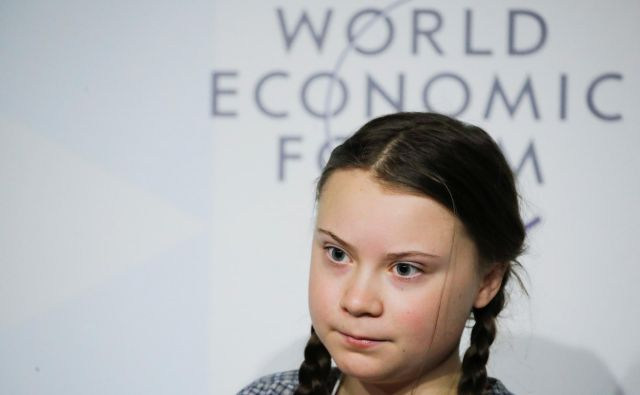 16-year old Swedish environmental activist Greta Thunberg takes part in a panel discussion during the World Economic Forum (WEF) annual meeting in Davos, Switzerland, January 25, 2019. REUTERS/Arnd Wiegmann - RC1614BA6A30 Foto Arnd Wiegmann Reuters