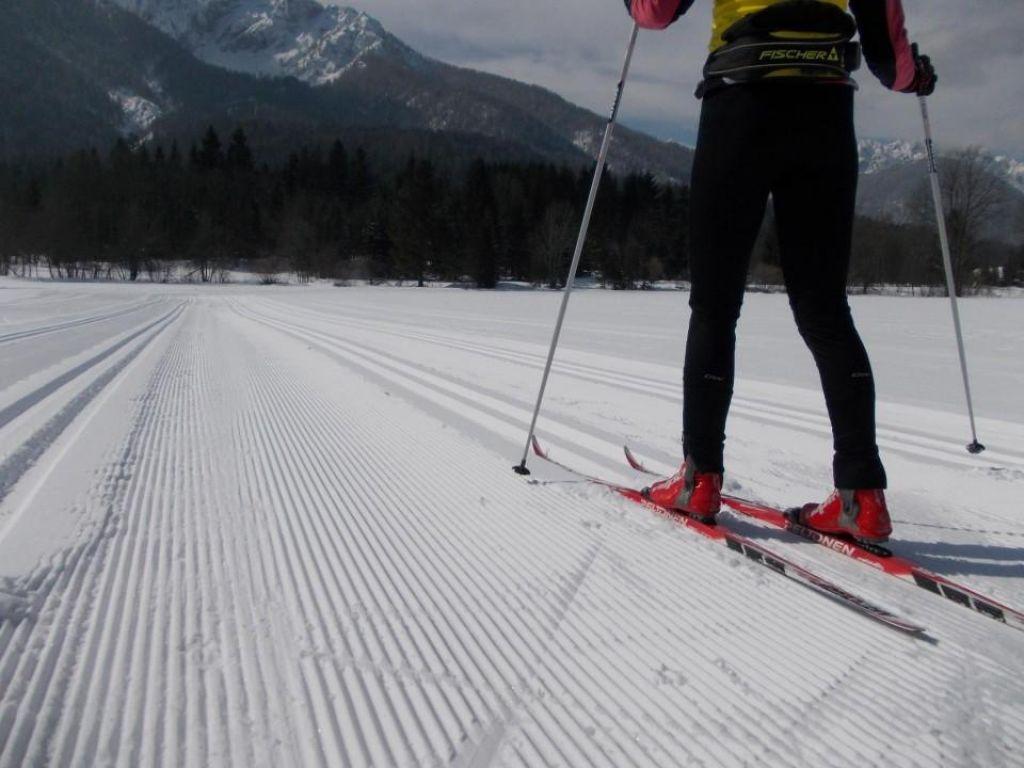 Smučar tekač, kam na sneg?