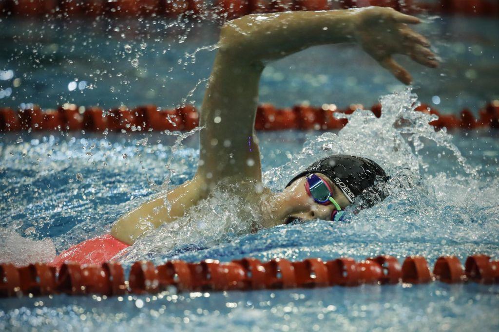 Katja Fain rekordna tudi na 50 m prosto