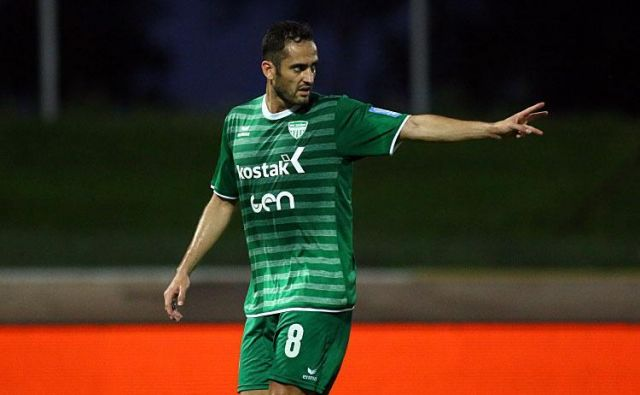 Francoski vezist Marco Da Silva je eden najvidnejših igralcev Krškega. Foto: nkkrsko.com