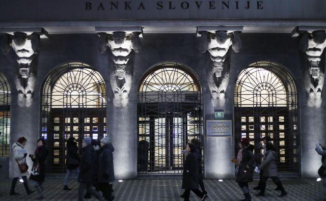V nedrje Banke Slovenije se bodo zakopali revizorji računskega sodišča. Foto Leon Vidic/Delo