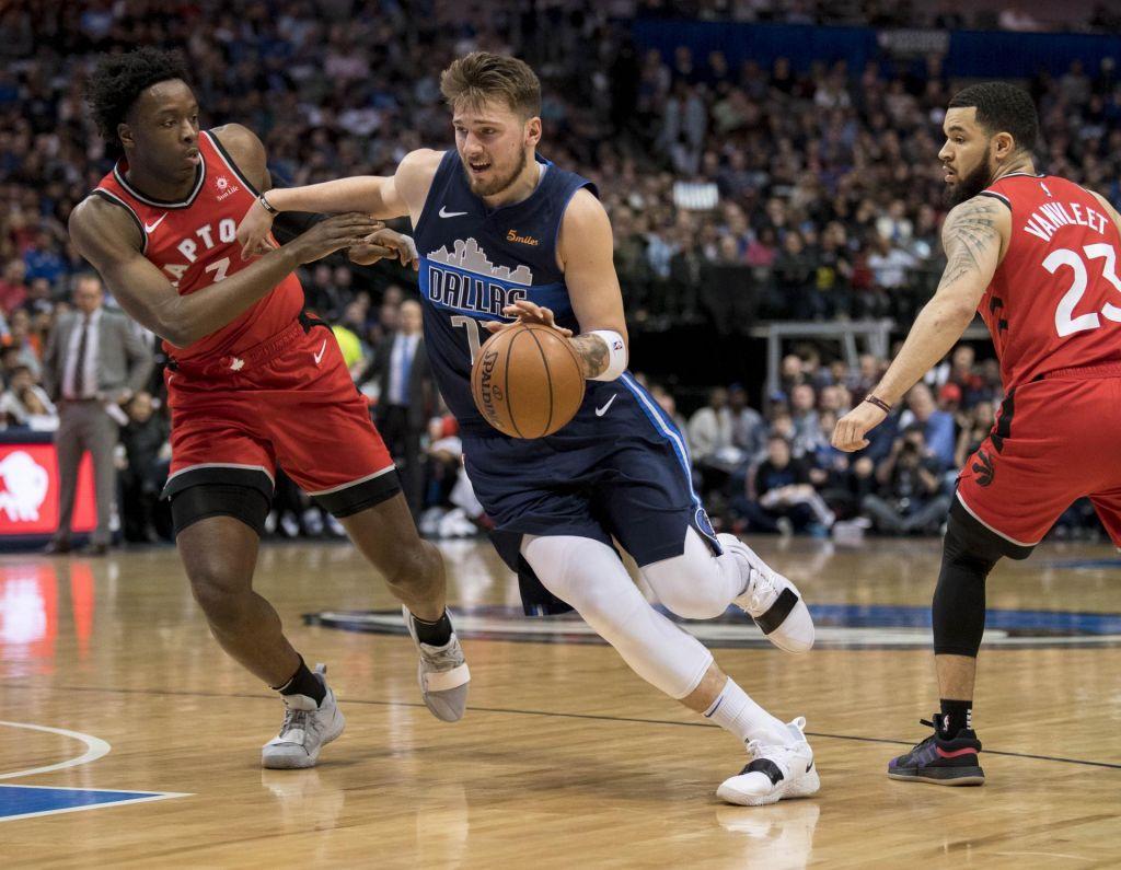 FOTO:Najboljši Dončićev večer doslej v NBA: trojni dvojček in 35 točk (VIDEO)