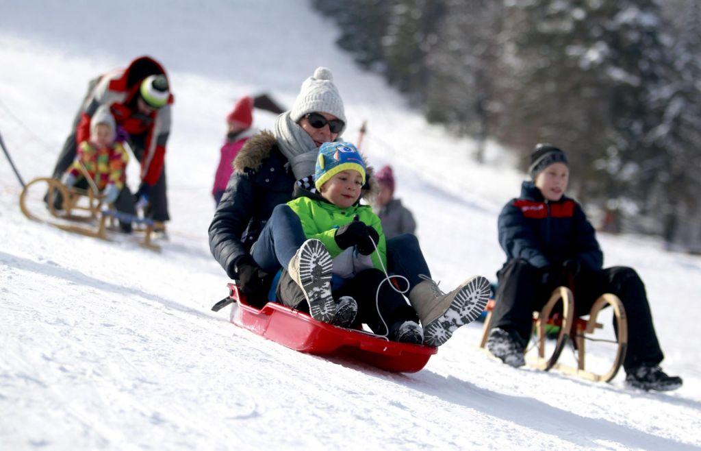 FOTO:Kranjskogorske zimske radosti