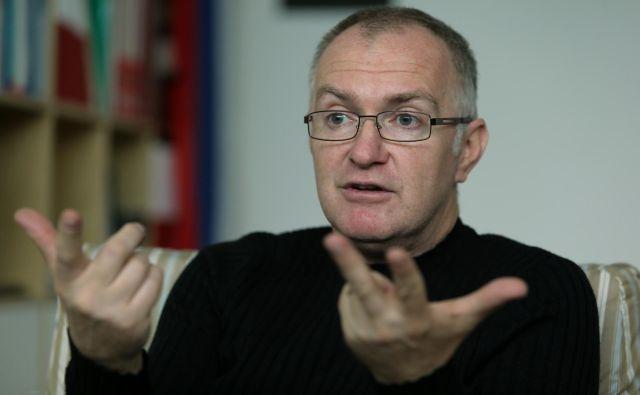 Aleksander Zadel priporoča tri glavne oporne točke za uspšeno delovanje kolektiva. FOTO: Uroš Hočevar