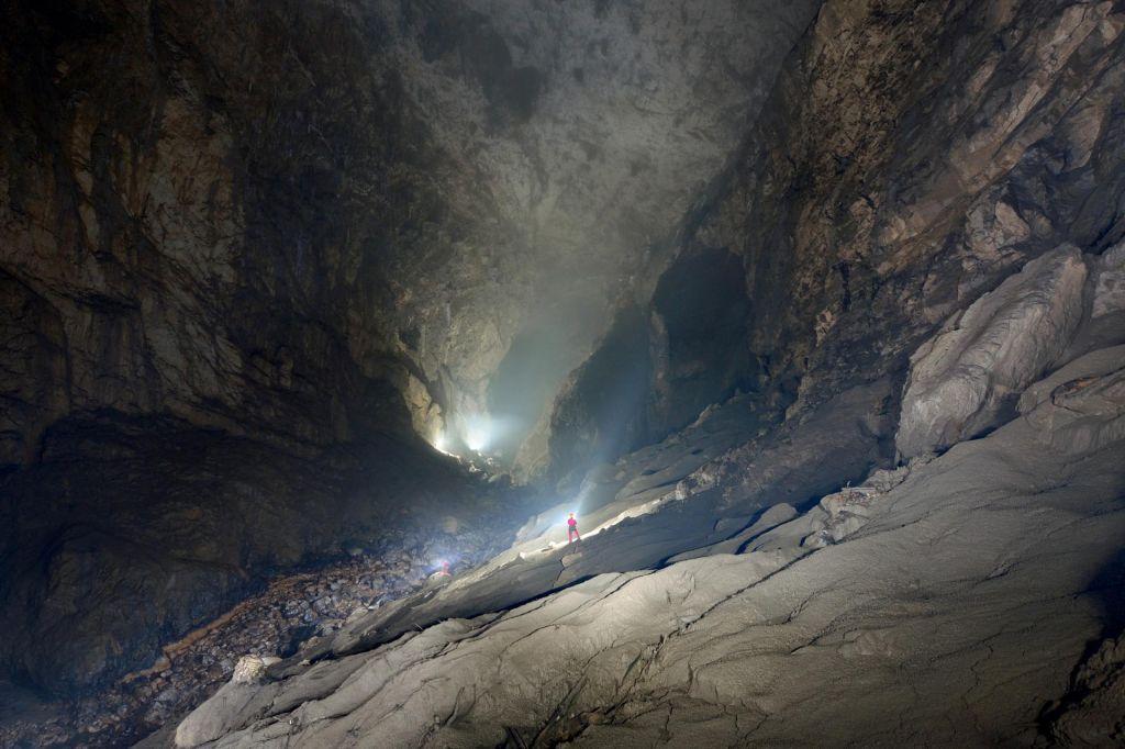 FOTO:Jamarje v Škocjanskih jamah vodil polh