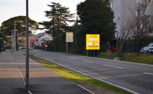 Hitrost na izolskih cestah umirjajo radarji. FOTO: Občina Izola