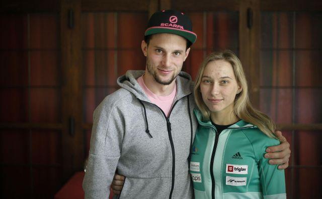 Janja Garnbret in Jernej Kruder sta lani najbolj izstopala. FOTO: Blaž� Samec/Delo