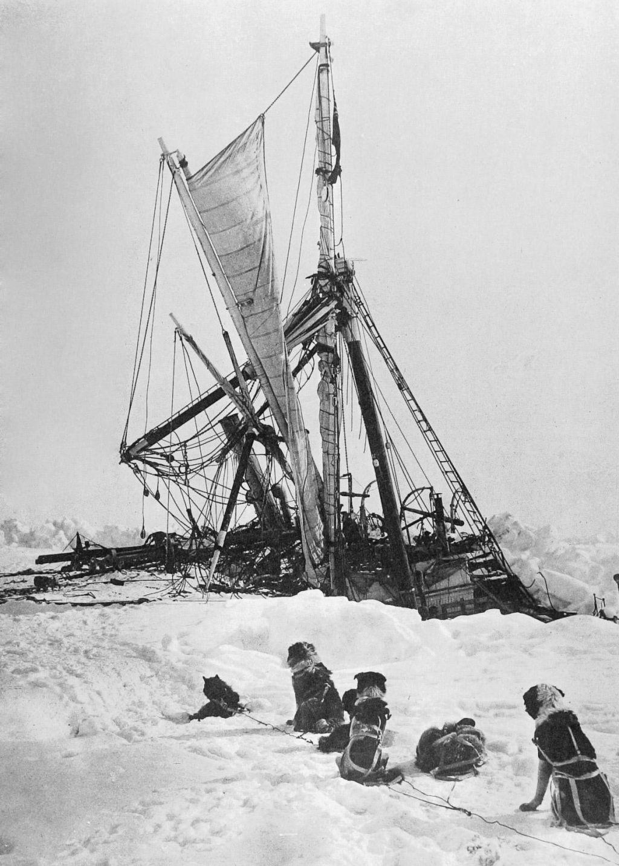 FOTO:Iskanje izgubljene Shackletonove Vzdržljivosti (FOTO)