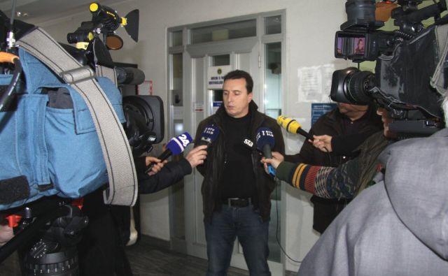 France Božičnik pojasnjuje, da preiskava še poteka. Foto PU Novo mesto
