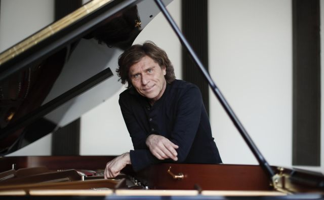 Bojan Gorišek ljubi minimalistične skladatelje, ki ustvarjajo nove svetove.<br /> Foto: Uroš Hočevar